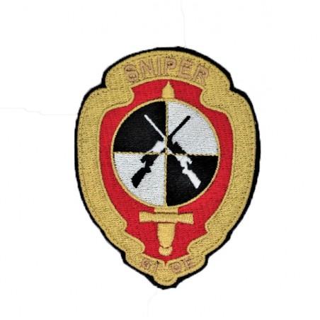 PATCH BORDADO GNR GIOE/SNIPER