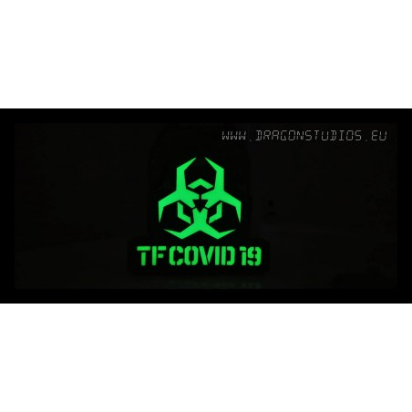 PATCH TFCOVID19 GLOW IN THE...