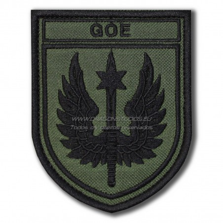 PATCH BORDADO GOE ( TÁCTICO )