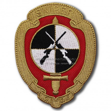 PATCH BORDADO GIOE SNIPER