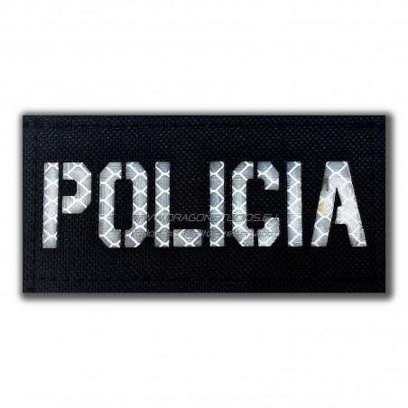 PATCH LASERCUT POLICIA 3MSOLAS