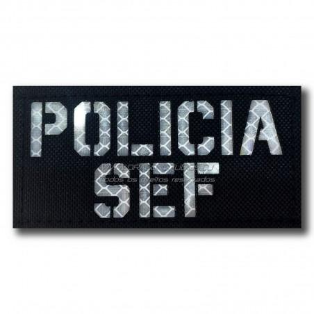 PATCH LASERCUT POLICIA - SEF