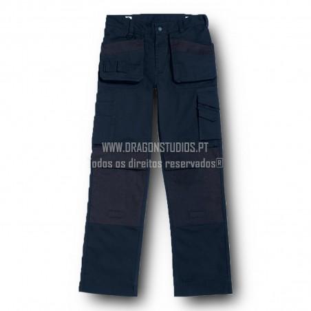 B&C PERFORMANCE PRO PANTS-BLUE