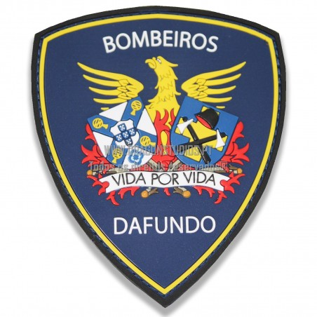 PATCH PVC 3D BOMBEIROS DAFUNDO
