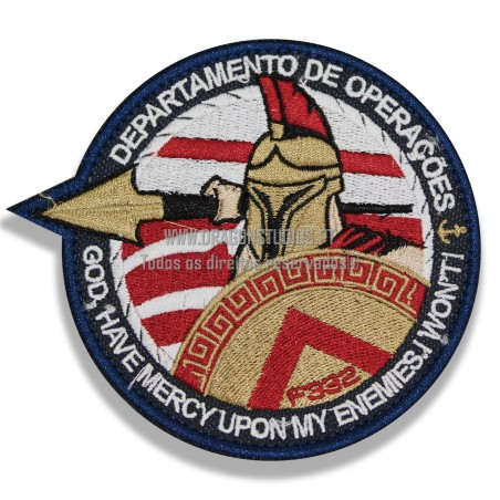 PATCH BORDADO F332 DAE