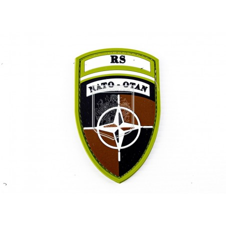 PATCH PVC3D RS NATO OTAN