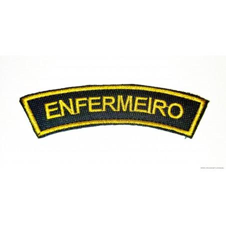 DÍSTICO BORDADO ENFERMEIRO