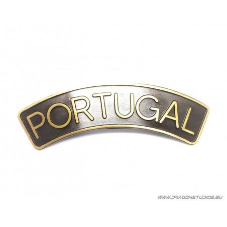 DÍSTICO EM METAL PORTUGAL